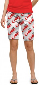 Diet Coke Silver StretchTech Women's Bermuda Short MTO
