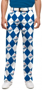 Dodgers Argyle StretchTech Men's Pant MTO