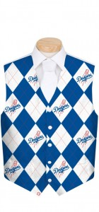 Dodgers Argyle StretchTech Men's Vest MTO