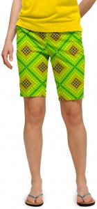 Dot Matrix Women's Bermuda Short MTO