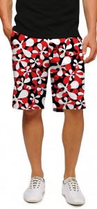 Fire Coral StretchTech Men's Short MTO