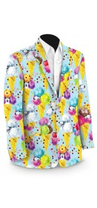 French Poodle Sundae StretchTech Men's Sport Coat MTO