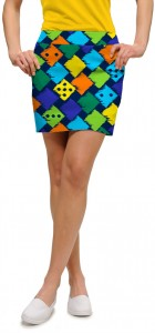 Fuzzy Dice Women's Skort/Skirt MTO