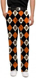 Giants Argyle StretchTech Men's Pant MTO