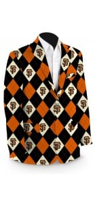 Giants Argyle StretchTech Men's Sport Coat MTO