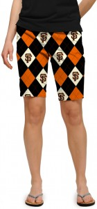 Giants Argyle Women's Bermuda Short MTO