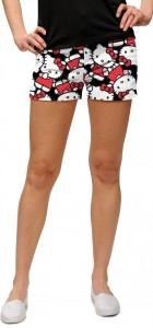 Hello Kitty Celebration Black Women's Mini Short MTO