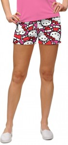 Hello Kitty Celebration Pink Women's Mini Short MTO