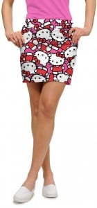Hello Kitty Celebration Pink Women's Skort/Skirt MTO