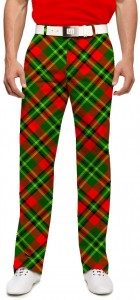 Holiday Tartan StretchTech Men's Pant MTO
