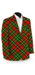 Holiday Tartan StretchTech Men's Sport Coat MTO
