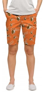 Hooters Orange StretchTech Women's Bermuda Short MTO