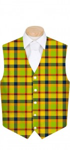 Margarita Plaid StretchTech Men's Vest MTO