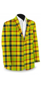 Margarita Plaid StretchTech Men's Sport Coat MTO