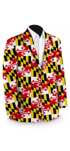 Maryland Flag StretchTech Men's Sport Coat MTO