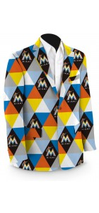 Marlins Prism StretchTech Men's Sport Coat MTO