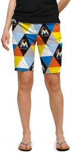 Marlins Prism StretchTech Women's Bermuda Short MTO