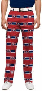 Montreal Canadiens Jersey Stripe StretchTech Men's Pant MTO