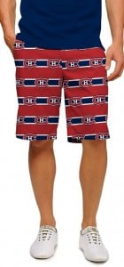 Montreal Canadiens Jersey Stripe StretchTech Men's Short MTO