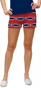 Montreal Canadiens Jersey Stripe StretchTech Women's Mini Short MTO