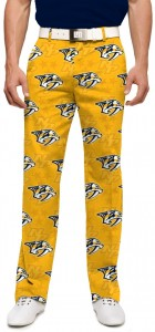 Nashville Predators Yellow StretchTech Men's Pant MTO