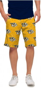 Nashville Predators Yellow StretchTech Men's Short MTO