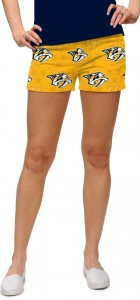 Nashville Predators Yellow StretchTech Women's Mini Short MTO