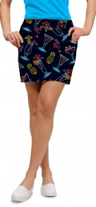 Neon Cocktails StretchTech Women's Skort
