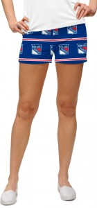 New York Rangers Jersey Stripe StretchTech Women's Mini Short MTO