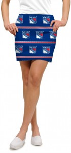New York Rangers Jersey Stripe StretchTech Women's Skort/Skirt MTO