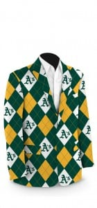 Athletics Argyle StretchTech Men's Sport Coat MTO