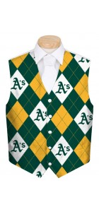 Athletics Argyle StretchTech Men's Vest MTO