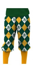Athletics Argyle StretchTech Knickerbockers MTO