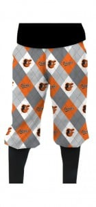 Orioles Argyle Gray StretchTech Knickerbockers MTO