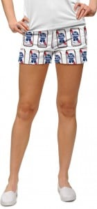 Pabst Blue Ribbon Cans Women's Mini Short MTO