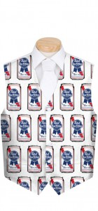 Pabst Blue Ribbon Cans Men's Vest MTO