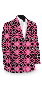 Pink Ninja Men's Sport Coat MTO