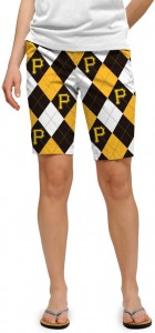 Pirates Argyle Women's Bermuda Short MTO