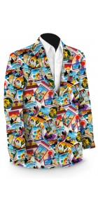 Postcards from the Wedge Men's Sport Coat MTO