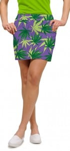 Purple Herb StretchTech Women's Skort/Skirt MTO