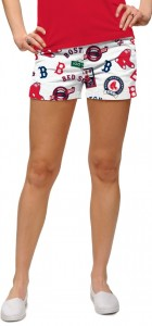 Red Sox Retro StretchTech Women's Mini Short MTO