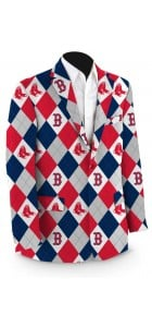 Red Sox Argyle StretchTech Men's Sport Coat MTO