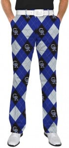Rockies Argyle StretchTech Men's Pant MTO