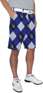 Rockies Argyle StretchTech Men's Short MTO