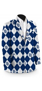 Padres Argyle Men's Sport Coat MTO
