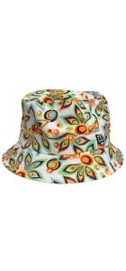 Shagadelic White New Era Reversible Bucket Hat