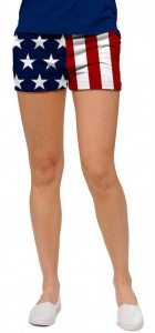 Stars & Stripes StretchTech Women's Mini Short MTO