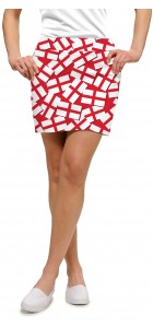 Saint George's Cross StretchTech Women's Skort/Skirt MTO