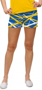 Stix Blue & Gold StretchTech Women's Mini Short MTO