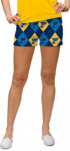 St. Louis Blues Argyle StretchTech Women's Mini Short MTO